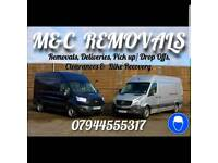 Man and Van removals and delivery 100% reliable service