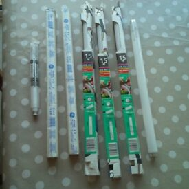 Strip Light Bulbs - seven in all - brand new in the packets - no longer required