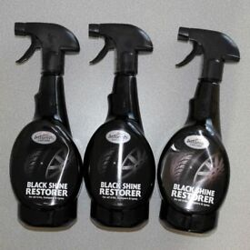 Astonish Black Shine Restorer 750ml (for all trim, bumpers and tyres )