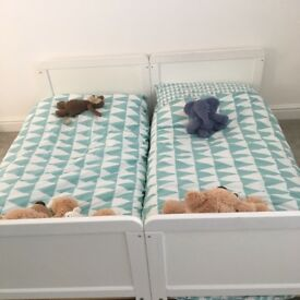Cot bed twins x 2