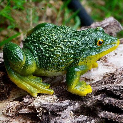 Mini Frosch Harz Verzierung für Hausgarten Hinterhof Außendekoration