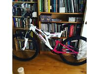 adult 12 gear padded gel seat muddy fox bike for sale.. collection only