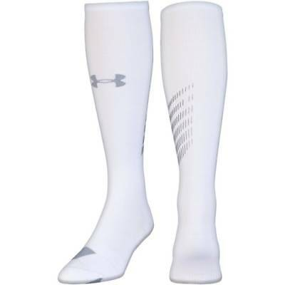 Under Armour Compression OTC Socks 1292834-100 Size M (4-8.5)  MSRP $25