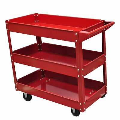 Rolling Tool Cart Utility Service Storage Trolley Workshop G
