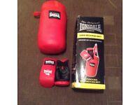 Lonsdale mini boxing set