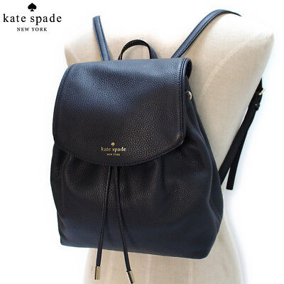 Nwt Kate Spade Small Breezy Mulberry Street Backpack Bag Black  329