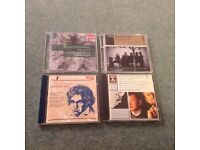 Four Beethoven CD's