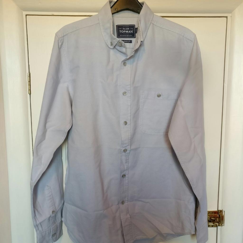 Topman Pale Blue Shirt