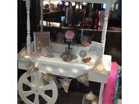 Chair covers and sweet cart hire