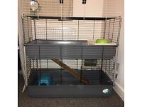 Large 2 tier guinea pig/rabbit cage