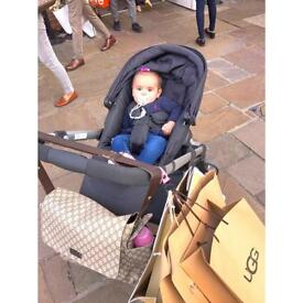 iCandy Apple 2 Pear pushchair & extras