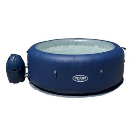 BNIB Lay Z Spa 4 person Hot Tub with LED Lights