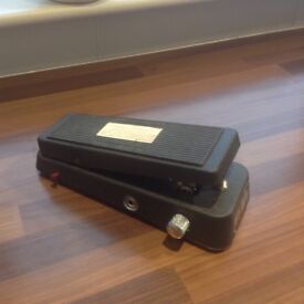 CRY BABY 535Q WAH PEDAL,EXCELLENT CONDITION,IN BOX WITH INSTRUCTIONS.
