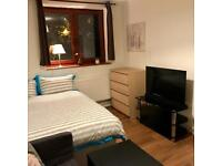 """Stylish Large Room With 35"""" LCD TV & Smart Box In Dalston"""