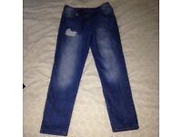 Girls jeans 10-11 yrs like new