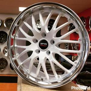 17 Inch White Wheels Rims for VW 4 New $850 CASH @Zracing 905 673 2828 17x8 5x112 +45 Rims for VW Audi A3 Wheels on sale