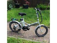 Cyclamatic electric folding bike