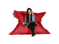 Original Big Bertha Giant XXL Beanbag - Red. As New, Never Used!
