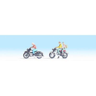 NOCH 45904 TT Figuren 1:120 Motorradfahrer NEU in OVP