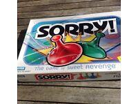 """SORRY "" Fun game for 2-4 people"