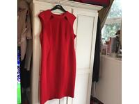 Classy Red Marks & Spencer's Dress