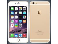 IPHONE 6 - O2 - 16GB - GOLD - EXCELLENT CONDITION - FROM SHOP - £285