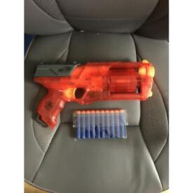 Nerf N-Strike Elite Strongarm LIMITED EDITION RED X-RAY