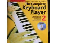 The Complete Keyboard Player Music Book for beginners