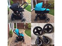 Oyster pushchair 3in1