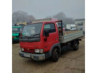 2005 Nissan Cabstar 34.10 3.0 diesel single wheel truck.