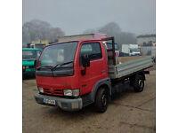 2005 Nissan Cabstar 34.10 3.0 diesel single wheel truck.