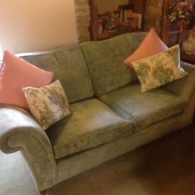 Beautiful duck egg blue Laura Ashley large two seater sofa