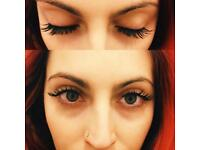 Semi permanent lashes / Russian 3D Volume Lashes