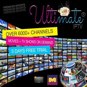 FREE 3 DAYS TRIAL - LIMITED TIME - BEST OF THE BEST IPTV SERVICES EVER - 100% TRUSTWORTHY - THE ULTIMATE EPIC IPTV