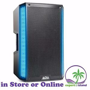 "ALTO TRUESONIC 2 TSL215 15"" 1100 Watt DJ PA Active Powered Speaker with Dual LED Lighting Array"