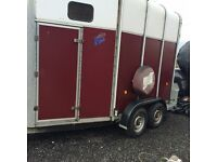 Ifor Williams Hunter HB510R Horse Trailer. Excellent Condition