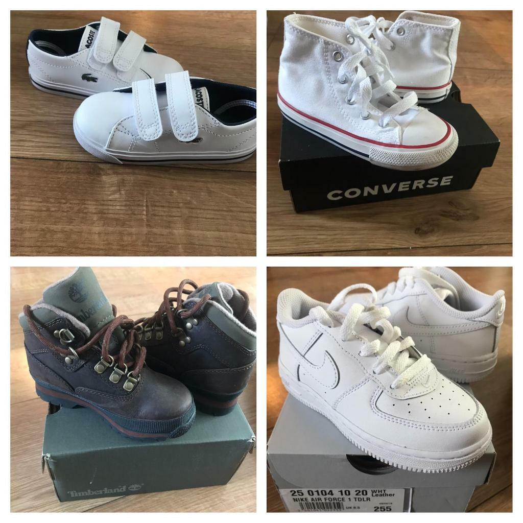 Brand new boys trainers for sale   in