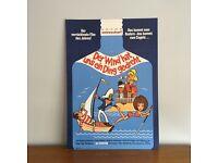 Vintage German Comedy Film Poster - 1960s