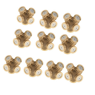 10Pcs Brass 1/2