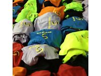 Cricket color kits available for tournaments