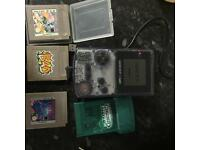 Gameboy colour rare with games and more can post or delivery locally