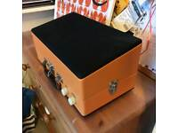Steepletone Record Player & Speaker Set Up