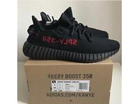 Yeezys red bred