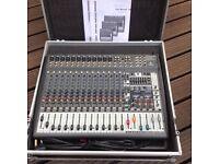 1200w Euro power mixer with fx