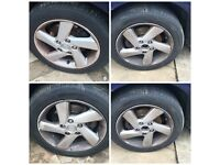 """Mazda 6 Alloy Wheels and Tyres Set of Four 205/55/16"""""""