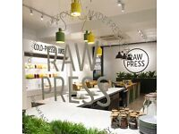 Account Manager / Sales for Raw Press
