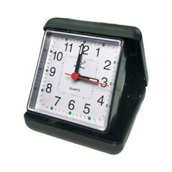 Small Alarm Clock Battery Beeper Alarm Travel Bedside Tabletop Alarm Clock Black