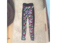 Sweaty Betty Santa zero gravity full length leggings. Xs