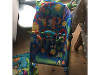 Bright Start Baby to big kid Rocker