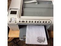 HP photosmartC52000 Series printer scanner etc for spares or repair